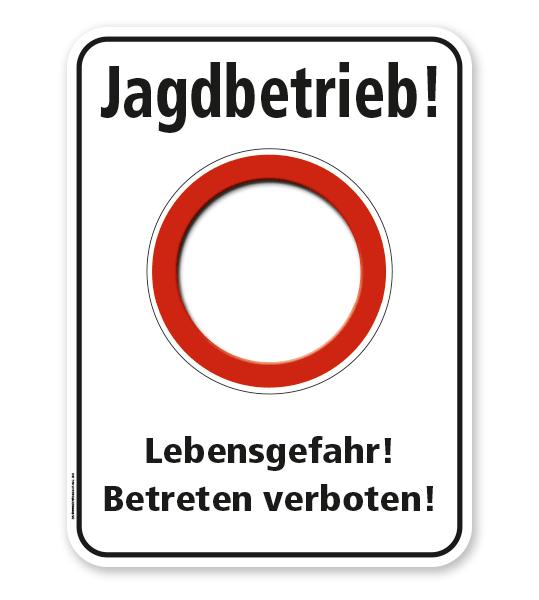 Forstschild Jagdbetrieb – G/GW