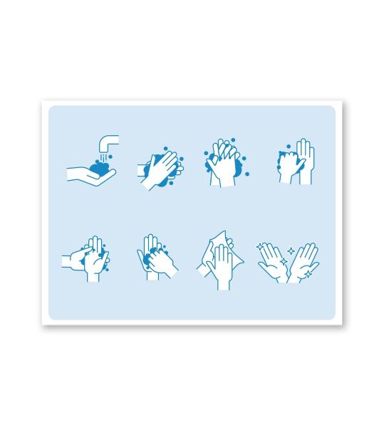 Hinweisschild Handhygiene - SCH-HWE-01
