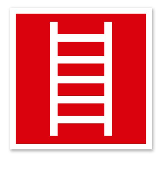 Brandschutzzeichen Leiter nach ASR A 1.3 (2007), BGV A8 F 04