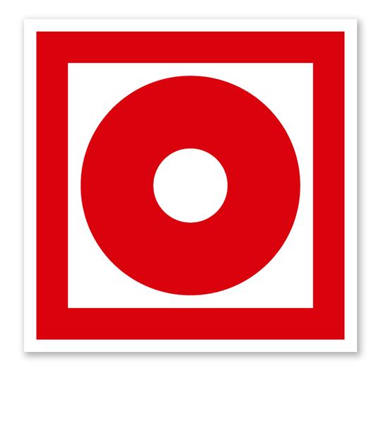 Brandschutzzeichen Brandmelder manuell nach ASR A 1.3 (2007), BGV A8 F 08