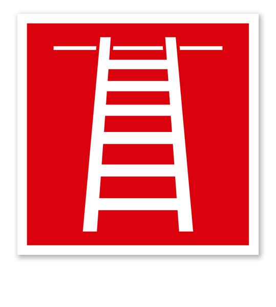 Brandschutzzeichen Anleiterpunkt