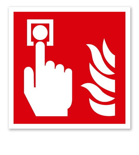 Brandschutzzeichen Brandmelder nach DIN EN ISO 7010 - F 005