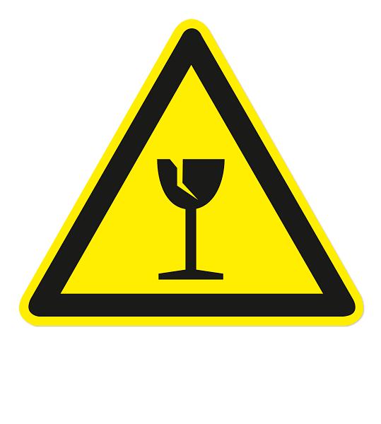 Warnzeichen Warnung vor Bruchgefahr