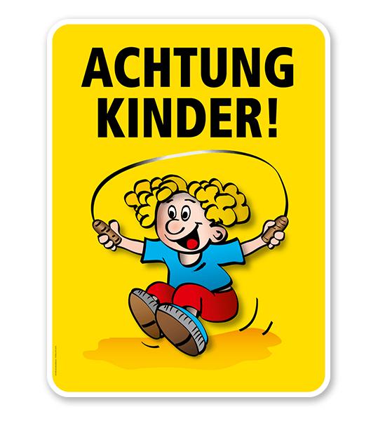 Kinderschild Achtung Kinder - VSS