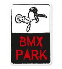 Schild BMX - Park - DS