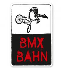 Schild BMX - Bahn - DS