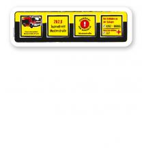 Spielplatz Zusatzschild 4P - DS