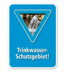 Schild Trinkwasserschutzgebiet – G/GW