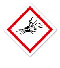GHS 01 - Symbol Explodierende Bombe