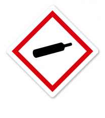 GHS 04 - Symbol Gasflasche