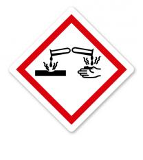GHS 05 - Symbol Ätzwirkung
