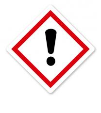 GHS 07 - Symbol Achtung Ausrufezeichen