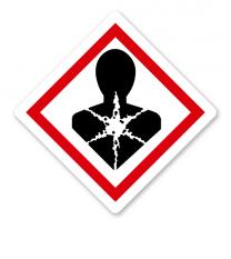 GHS 08 - Symbol Gesundheitsgefahr