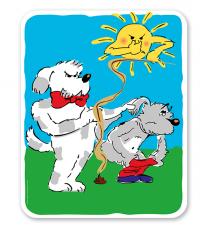 Hundeschild Hunde dürfen hier nicht koten - 2 - H