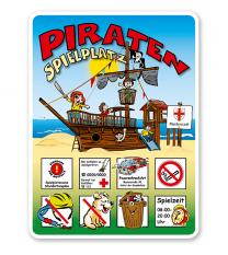 Spielplatz Piratenspielplatz - Piratenschiff 8P - KSP-2