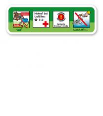 Spielplatz Zusatzschild 4P - KSP-2