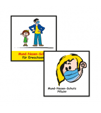 Spielplatz-Sonderpiktogramme als Aufkleber - KSP-2