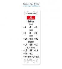 Kennzeichnung von Mobilfunkanlagen - Vodafone MF-03d