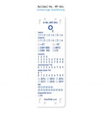Kennzeichnung von Mobilfunkanlagen O2 MF-04c