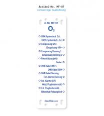 Kennzeichnung von Mobilfunkanlagen - O2 MF-07