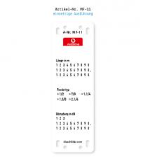 Kennzeichnung von Mobilfunkanlagen - Vodafone MF-11