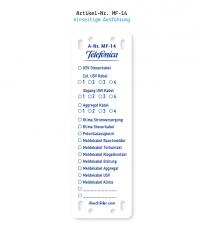 Kennzeichnung von Mobilfunkanlagen - Telefonica MF-14