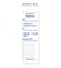 Kennzeichnung von Mobilfunkanlagen - Telefonica MF-16