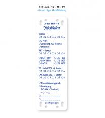 Kennzeichnung von Mobilfunkanlagen - Telefonica MF-19