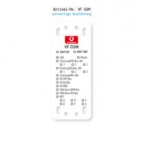 Kennzeichnung von Mobilfunkanlagen - Vodafone VF GSM