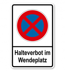 Absolutes Halteverbot im Wendeplatz