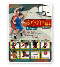 Spielplatzschild Basketball 8P - PB
