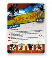 Schild Skate und BMX 4P - PB