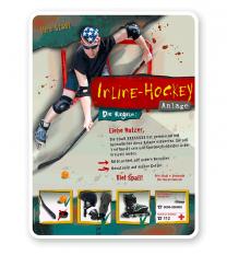 Spielplatzschild Inline-Hockey 4P - PB