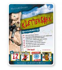 Spielplatzschild Kletterpark 4P - PB