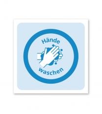 Hinweisschild Handhygiene - SCH-HWE-06