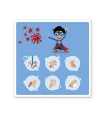 Hinweisschild Kinder-Handhygiene - SCH-HWK-01