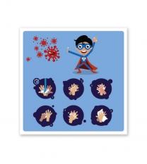 Hinweisschild Kinder-Handhygiene - SCH-HWK-02