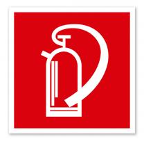 Brandschutzzeichen Feuerlöscher nach ASR A 1.3 (2007), BGV A8 F 05