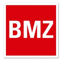 Brandschutzzeichen BMZ - Brandmeldezentrale