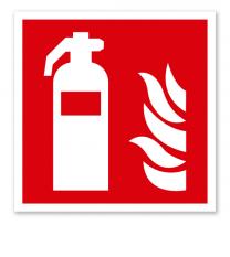 Brandschutzzeichen Feuerlöscher nach DIN EN ISO 7010 - F 001