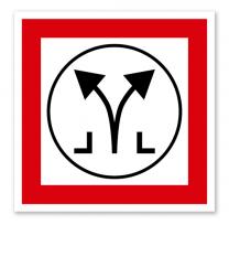 Brandschutzzeichen Rauch- und Wärmeabzug RWA