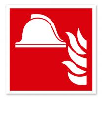 Brandschutzzeichen Mittel und Geräte zur Brandbekämpfung nach DIN EN ISO 7010 - F 004