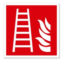 Brandschutzzeichen Feuerleiter nach DIN EN ISO 7010 - F 003