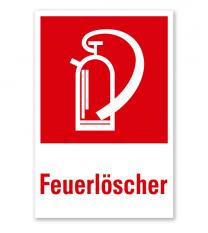 Feuerlöscher - Kombination