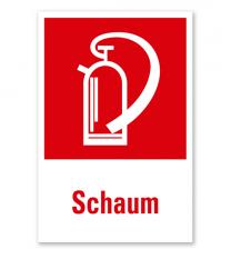 Feuerlöscher Schaum - Kombination