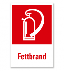 Feuerlöscher Fettbrand - Kombination