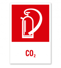 Feuerlöscher CO2 - Kombination