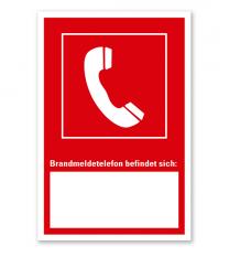 Brandmeldetelefon - Angabe der Geräteposition - Kombi