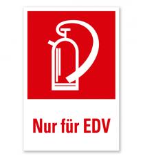 Feuerlöscher Nur für EDV - Kombination