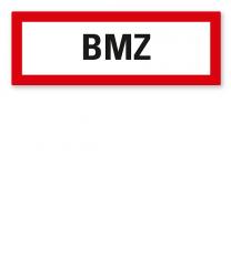 Brandschutzschild BMZ - Brandmeldezentrale nach DIN 4066
